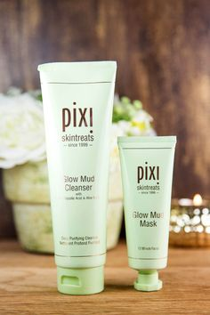 Pixi Glow Mud Cleanser and Glow Mud Mask