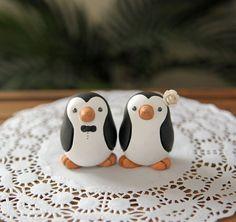 Penguin toppers by RedLightStudio Etsy shop for $100.