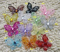 hanging decorations for enchanted wedding | Butterfly Party Decor