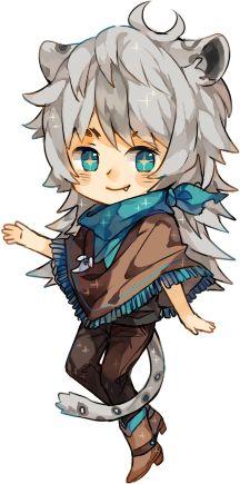 sparkle chibi: wolphfe by ruuto-kun.deviantart.com on @deviantART