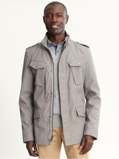 Banana Republic Four Pocket Field Jacket - Buy it here: https://www.lookmazing.com/products/show/816921