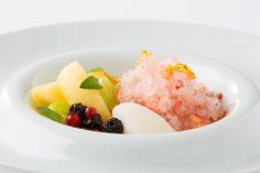 ホテル インターコンチネンタル 東京ベイの大人のフレンチかき氷今治かき氷  東京ベイスタイルを堪能する