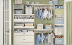 Beautiful Nursery Closet Design