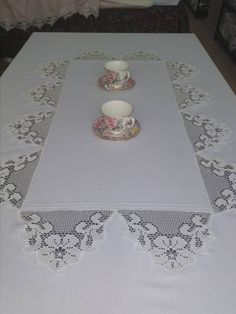 Drawn Thread, Thread Work, Filet Crochet, Crochet Lace, Hand Knit Bag, Invisible Stitch, Crochet Tablecloth, Table Runners, Wedding Napkins