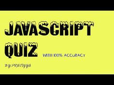 ******************Here you can watch all types of Quiz questions for Web Development course. Web Development, Company Logo, Youtube, Youtubers, Youtube Movies
