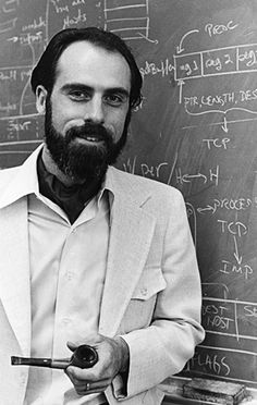 Vinton Cerf, MS 1970, PHD 1972 - One of the founding fathers of the Internet. http://ucla.edu/optimists