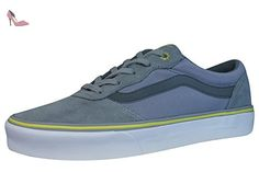 UA Old Skool, Baskets Basses Femme, Bleu (Speckle Jersey Blue/TRUE White), 40.5 EUVans