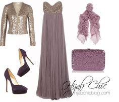 Hijab Fashion: Andrew Gn sweet dress