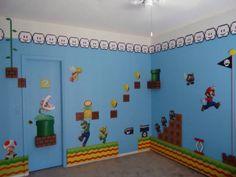 Super Mario Kids Bedroom Designed By Build A Room Ideas
