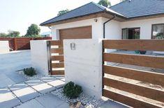 House Fence Design, Modern Fence Design, Front Yard Design, Patio Design, Exterior Design, Primark Home, Paint Colors For Home, Pergola Patio, Facade House