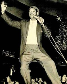 Benny Moré (24 August 1919 – 19 February 1963), or Beny, was a Cuban singer. He is often thought of as the greatest Cuban popular singer of all time. Moré was a master of most genres of Cuban music, such as the son montuno, mambo, guaracha, and bolero. In particular, it is unusual for a singer to be equally proficient at both the fast rhythms (e.g. guaracha) and the slower rhythms, such as the bolero. Moré also formed and led the leading Cuban big band of the 1950s, until his death in 1963.
