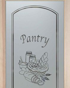 Awesome Pantry Doors Frosted Glass Pantry Door Bread Basket