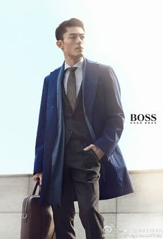 Wallace Huo for Hugo BOSS