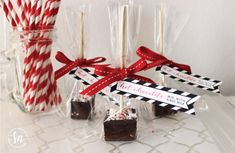 Peppermint Hot Chocolate On  A Stick