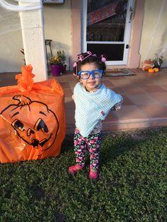 Toddler Old Lady Costume // DIY Grandma Costume | Miss Bella | Pinterest | Grandma costume Costumes and Halloween costumes  sc 1 st  Pinterest & Toddler Old Lady Costume // DIY Grandma Costume | Miss Bella ...