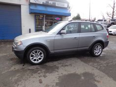 Check out this 2004 BMW X3 2.5i Only 109k miles. Guaranteed Credit Approval or the vehicle is free!!! Call us: (203) 730-9296 for an EZ Approval.$10,995.00.