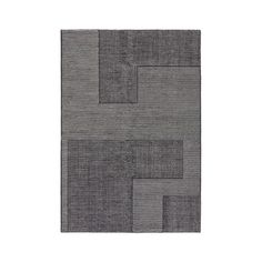 Tom Dixon Stripe Rectangular Rug - Black and White