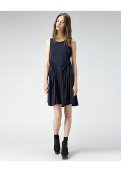 Carven Jersey Drawstring Dress