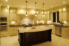 Tip of the Day: Considering the amount of time many of us spend in the kitchen over the holiday season, this is a great time to tupdate your kitchen lighting. Pendant lights arranged in groups over an island are a popular update from the single overhead hanging light fixture. Under-cabinet lighting has come a long way from the old, flickering fluorescents. The new LED puck lights, rope lights and panels can do a lot to dress up your kitchen and save your eyes as well as your energy costs.