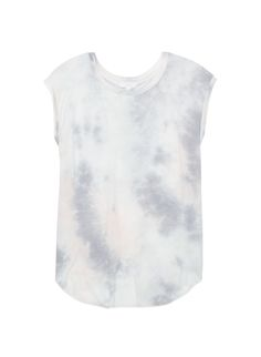 Love this statement tee with a dramatic kite-back design and a subtle tie-dye pattern. #aritziacleanslate
