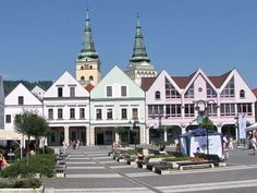 Slovakia, Žilina - Marian Square