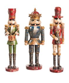 Look at this Regal Nutcracker Set on #zulily today!