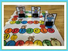 Love Those Kinders!: Easy peasy way to stand game pieces using binder clips!