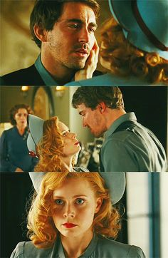 Lee Pace as Michael and Amy Adams as Delysia in Miss Pettigrew Lives for a Day (2008).