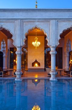 Palais Namaskar, Marrakech. Would LOOOVE to have something like this some day...