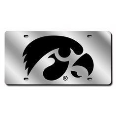 Iowa Hawkeyes Ncaa Laser Cut License Plate Tag