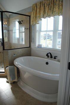 Soaking tub....I want one