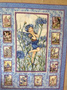 Flower Fairy Lap Quilt