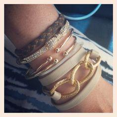 Love the bracelets!!