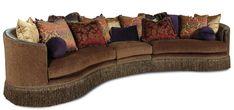 Whitney 3 Piece Sectional Sofa by Rachlin Classics