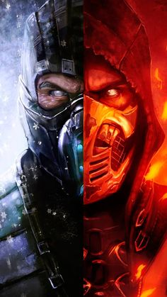 Mortal Kombat Scorpion & SubZero Ice & Fire-Mortal kombat you can find similar pins below. We have brought the bes. Mortal Kombat X Scorpion, Sub Zero Mortal Kombat, Escorpion Mortal Kombat, Mortal Kombat Tattoo, Deadpool Wallpaper, Avengers Wallpaper, Mortal Kombat X Wallpapers, Best Gaming Wallpapers, Iphone Wallpapers