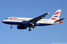British Airways Airbus A319-100 (G-DBCJ)