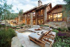 Contemporary Mountain Home - Luxe Interiors + Design