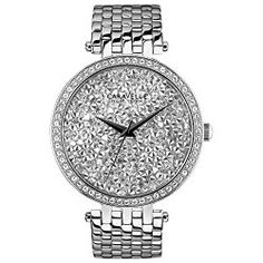 Caravelle New York 43L160 Ladies Silver Steel Bracelet Watch