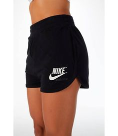 Detail 1 view of Women& Nike Sportswear Archive Training Shorts in Black/Sa. - Detail 1 view of Women& Nike Sportswear Archive Training Shorts in Black/Sail Source by - Teen Fashion Outfits, Sport Outfits, Summer Outfits, Sporty Outfits Nike, Nike Fashion, Nike Sportswear, Looks Adidas, Cute Lazy Outfits, Nike Tech Fleece