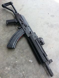 AK47 weapon build (not an AK47 just a build and body)
