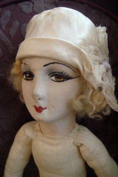 French silk boudoir doll