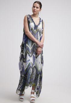 René Derhy - BAYONNE - Fotsid kjole - bleu Bohemian, Summer Dresses, Style, Fashion, Blue, Swag, Moda, Summer Sundresses, Fashion Styles