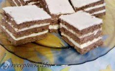 Rumos-vaníliás szelet recept Domján Mária konyhájából - Receptneked.hu Tiramisu, Ethnic Recipes, Food, Meal, Eten, Meals, Tiramisu Cake