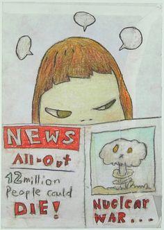 "Yoshitomo Nara Drawing File #28 Official Art Poster Print Japan Cute Cartoon Animation Wall Décor (11x25"") North China Women & Children Publishing House http://www.amazon.com/dp/B00GEG911S/ref=cm_sw_r_pi_dp_bSlIwb1J41BZ8"