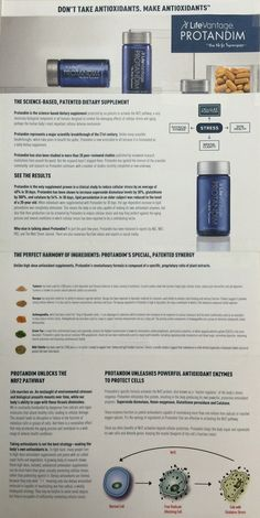 """Protandim: The cellular """"fountain of youth"""" See it in action at www.abcliveit.com"""