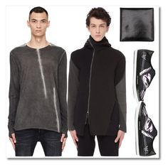 """SVMoscow"" by fatimka-becirovic ❤ liked on Polyvore featuring Isaac Sellam, Leon Emanuel Blanck, Y-3, Ann Demeulemeester, men's fashion and menswear"