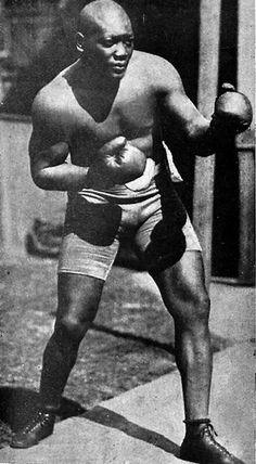 Jack Johnson Boxing in Spain
