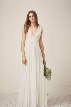 43bb376755f French Connection Ivory Palemer Embellished Lace Bridal Wedding Dress 6 To  14 #FrenchConnection #MaxiDress