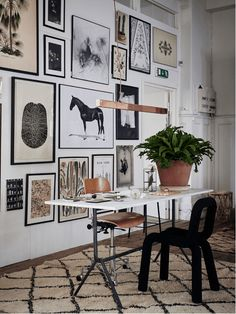 Un appartement-concept store Inspiration Wand, Interior Inspiration, Moodboard Inspiration, Inspiration Boards, Style Inspiration, Home Office Design, House Design, Sweet Home, Wall Decor