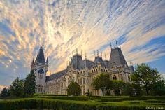 Sunrise, Palace of Culture, Iasi, Romania